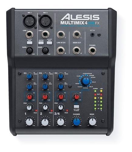 Consola alesis multimix 4 usb fx