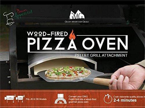 Green mountain grill horno de pizza con leña