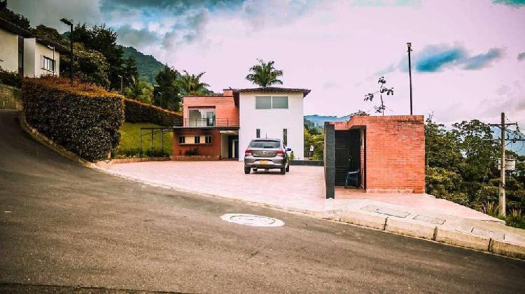 Lote casa finca se permuta poblado1995m