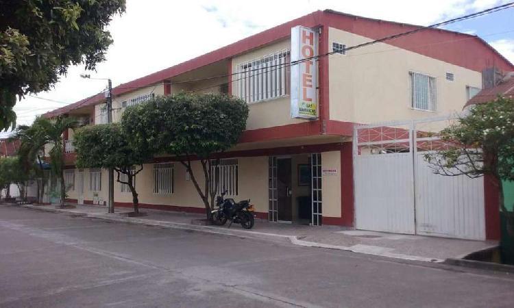 Se vende rentable hotel-área 1.670 m2