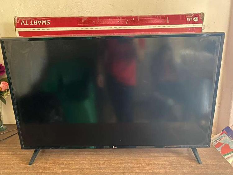 Televisor smart tv led de43 pulgadas lg. nuevo, me costo