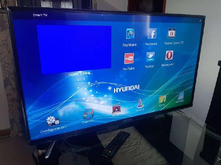 Tv smart tv marca hyundai