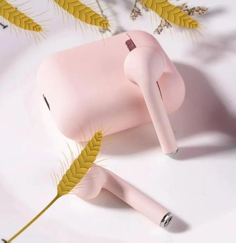 Audifonos inalambricos touch i12 tws baratos rosa