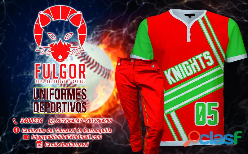 uniformes deportivos en barranquilla
