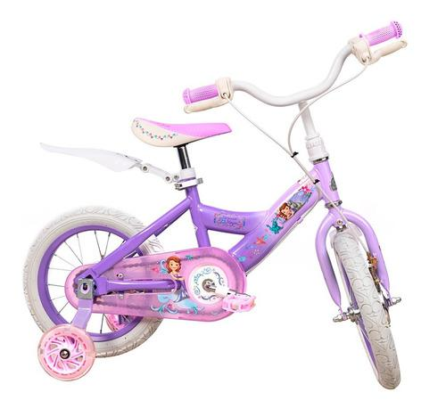 Bicicleta niña rin 14 pulgadas disney princesa sofia