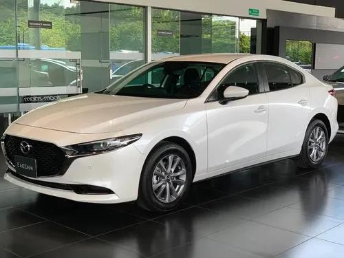 Mazda 3 touring blanco at 2021