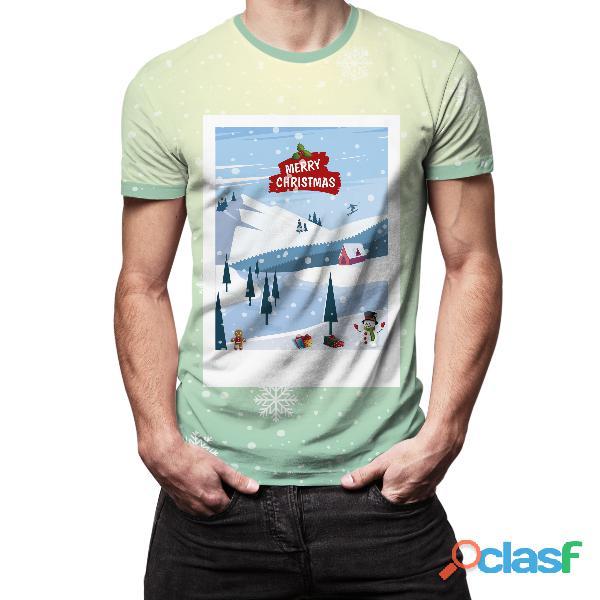 fabrica de camisetas navideñas para toda la familia
