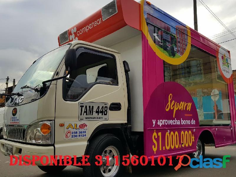 SALA DE VENTAS MOVIL EN BOGOTA 3115601017