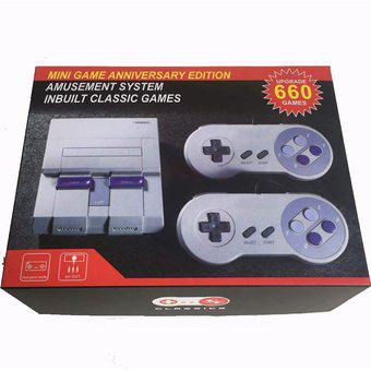 Consola de estilo nes classic edition (mini nes) 660 juegos