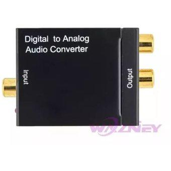 Convertidor audio digital optico a rca analogico
