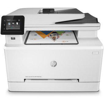 Impresora hp m281fdw color pro laserjet multifuncional