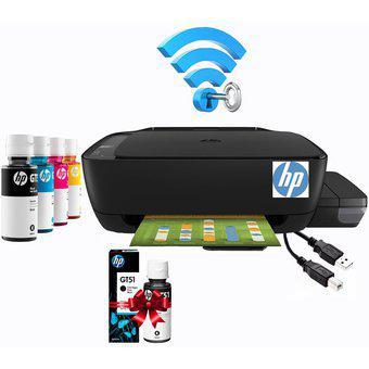 Impresora multifuncional hp 410 wifi tinta continua + regalo