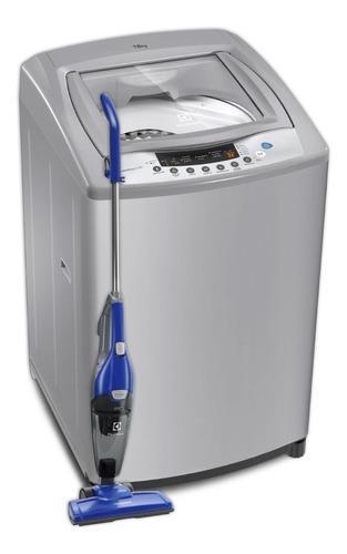 Lavadora essential care electrolux ewif18d3cgsg 18kg gris