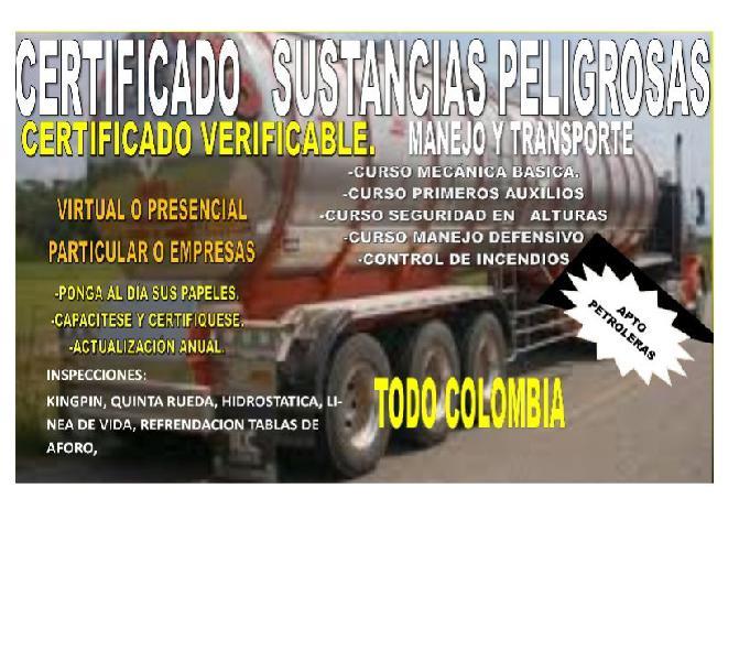 Manejo defensivo certificado y paquete conductores pesv