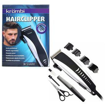 Maquina peluqueria corte cabello krombi motilar barberia