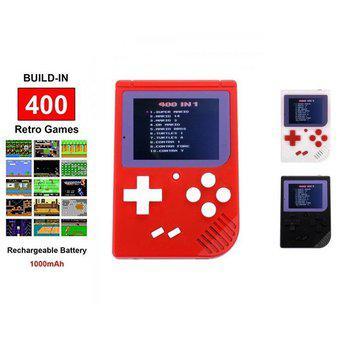 Mini consola retro portátil 400 juegos en 1 game boy play