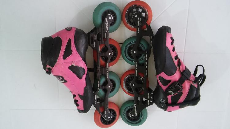 Patines profesionales canariam signo chasis ultraligth.