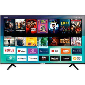 """Televisor hyundai 58"""" 4k smart tv hyled5805n4km"""