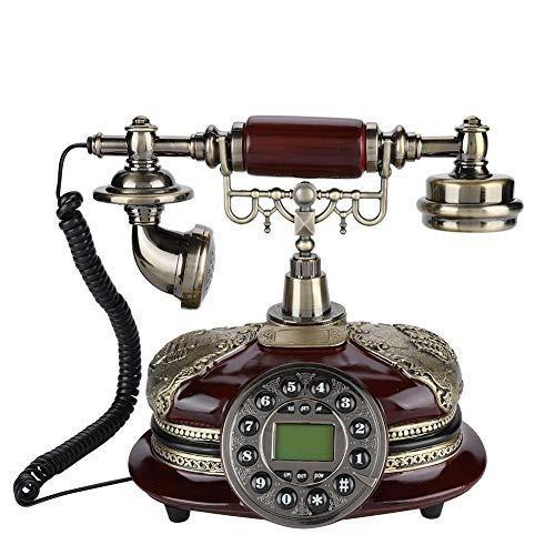 Telefonos antiguos fijos digitales clasicos de estilo europe