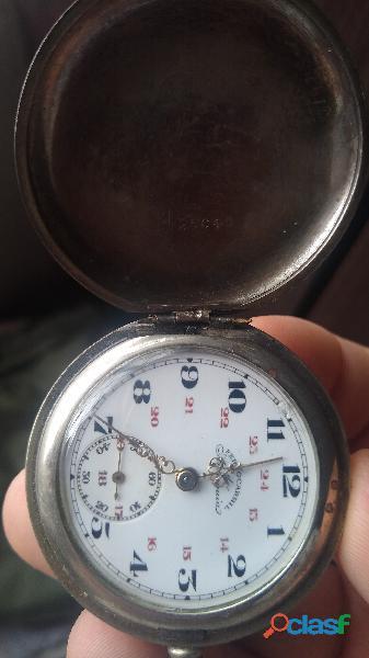 Reloj ferrocarril de antioquía buen estado tres tapas no le falta ninguna pieza
