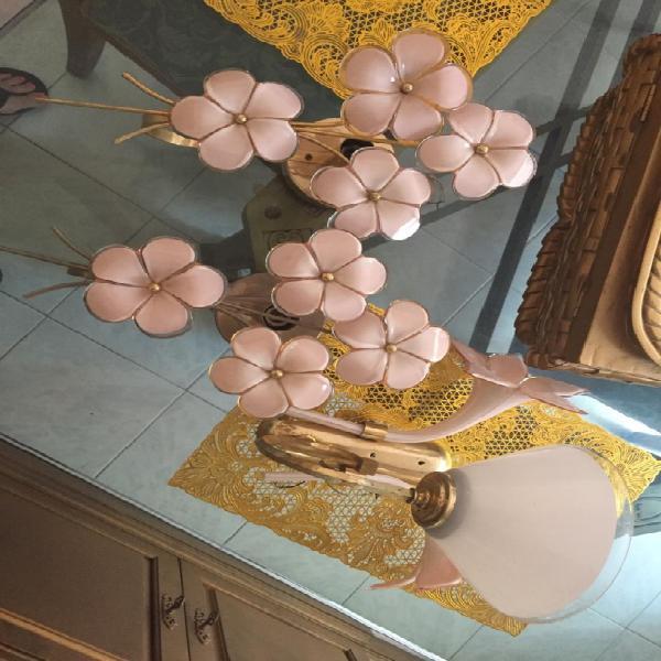 Apliques de lampara en porcelana china cada