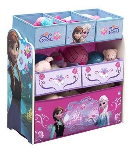 Delta frozen organizador infantil de juguetes niñas