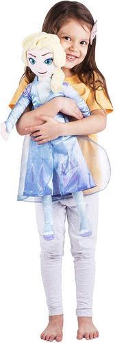 Disney frozen ii almohada peluche muñeca elsa juguete niña