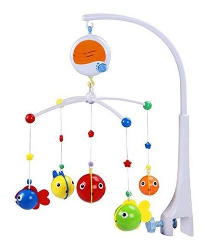 Fisca bebe musical cuna movil cama infantil decoracion jugue