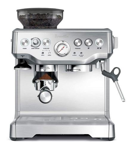 Maquina cafe espresso capuccino breville bes870xl capuchiner
