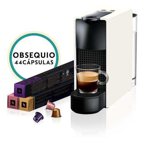 Máquina de café nespresso essenza mini blanca