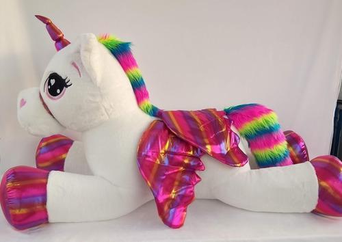 Unicornio peluche grande juguete bogota