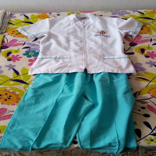 Vendo uniforme academia de belleza mandala palmira