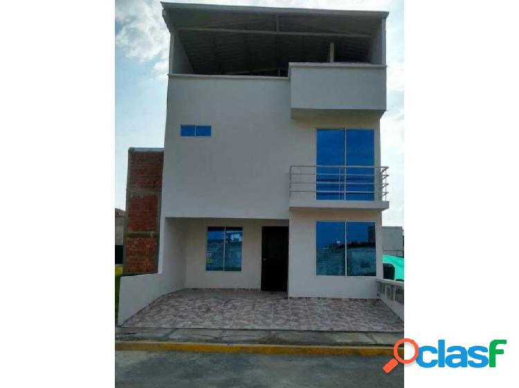 Casa nueva en condominio jamundi t.p