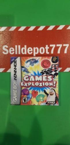 Games explosion (nintendo game boy advance, 2006) nuevo