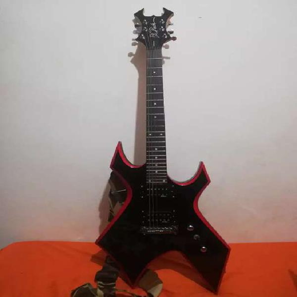 Guitarra Eléctrica Bc Rich Warlock Red Bevel En Medellín Clasf Aficiones Y Ocio