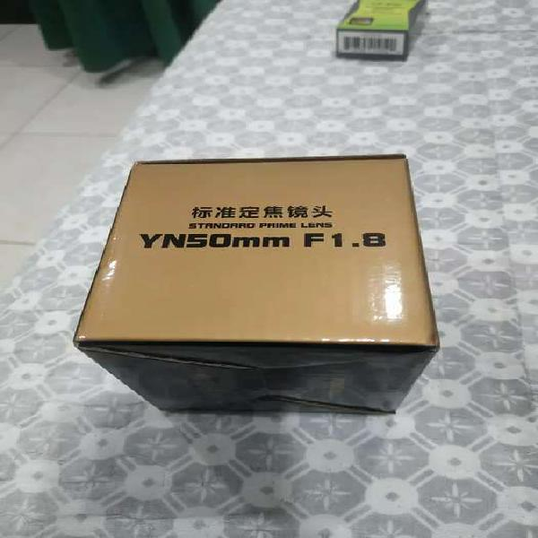 Lente yongnuo 50mm