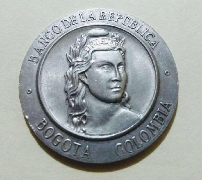 Medalla banco de la república