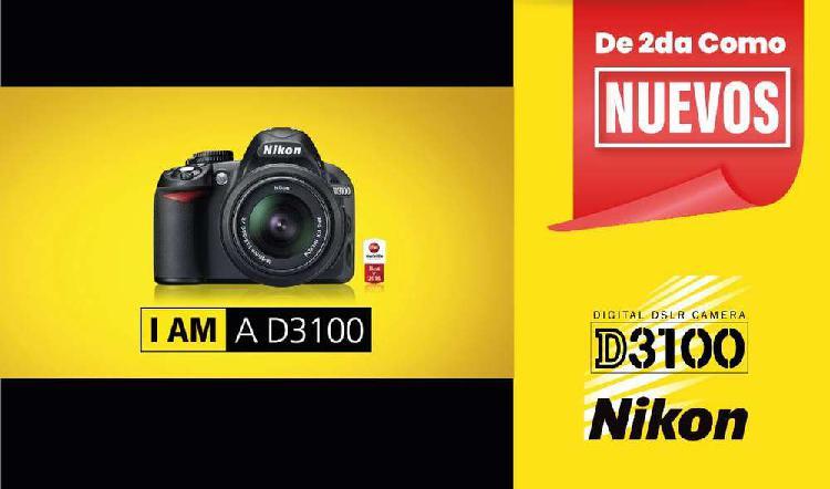 Nikon d3100 poco uso