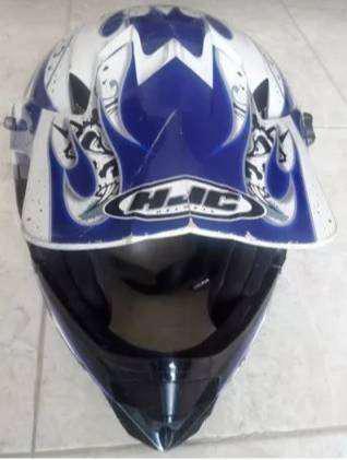 Vendo casco para motocicleta hjc talla m