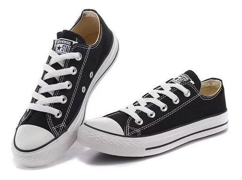 Tenis converse hombre y mujer zapato color blancos y negros