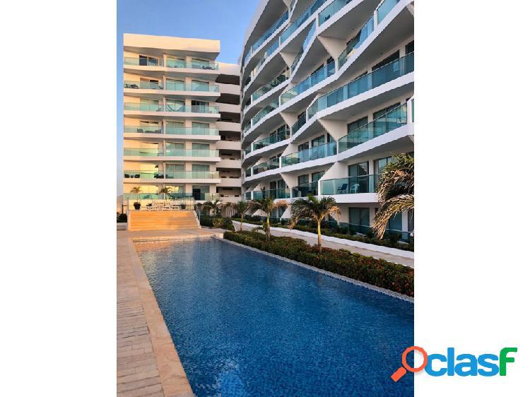 Apartamento amoblado con vista al mar. cartagena