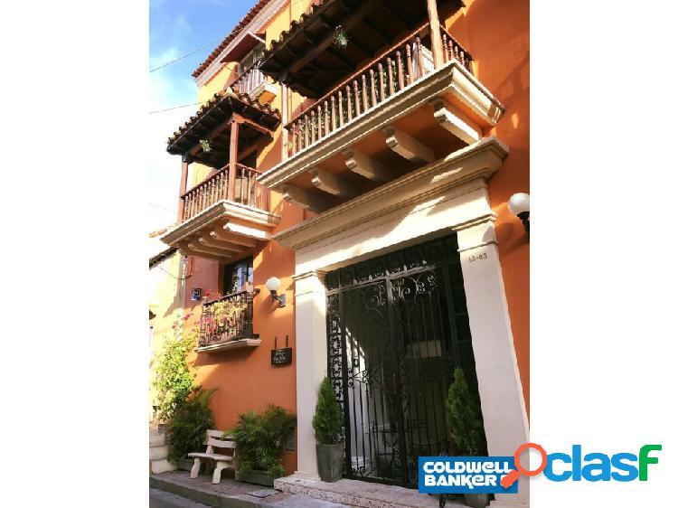 En cartagena, vendo hotel centro historico