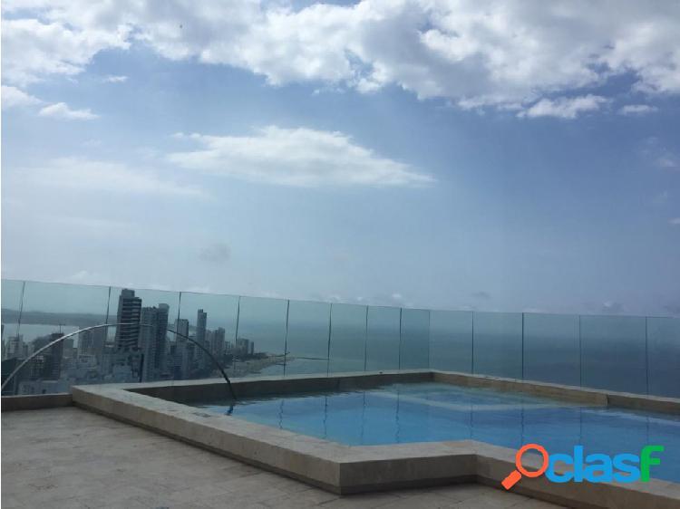 Vendo apartamento linda vista al mar caribe