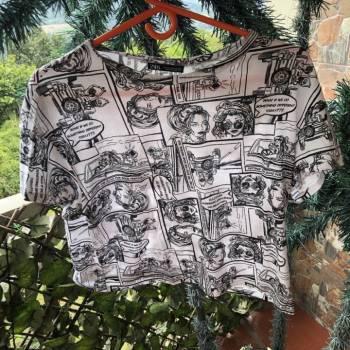 Camiseta zara s (grande)