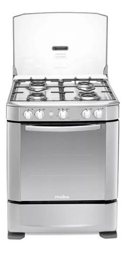 Estufa de piso mabe a gas de 24 horno grill ingenious606cx6