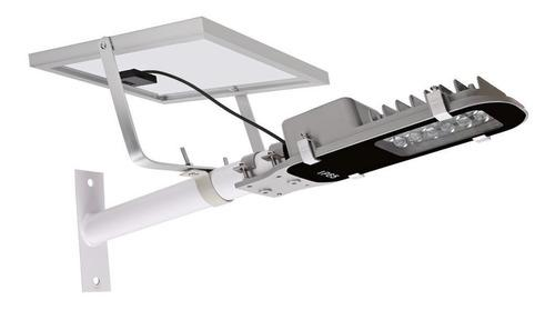 Luz de calle solar integrada llevada 12w, luz de poste...