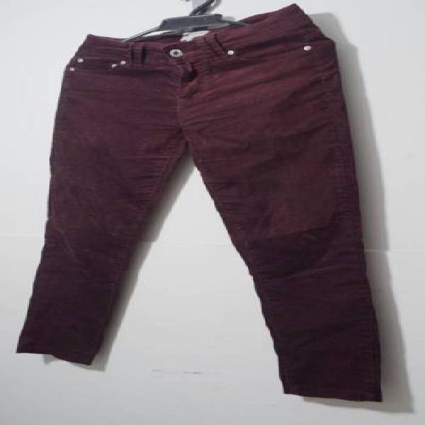 Pantalón de pana morado pepe jeans
