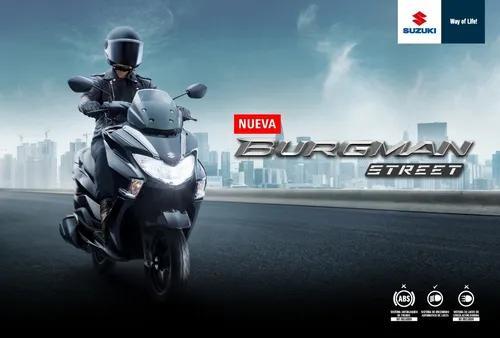 Suzuki burgman 125cc 2020 - financiable + casco