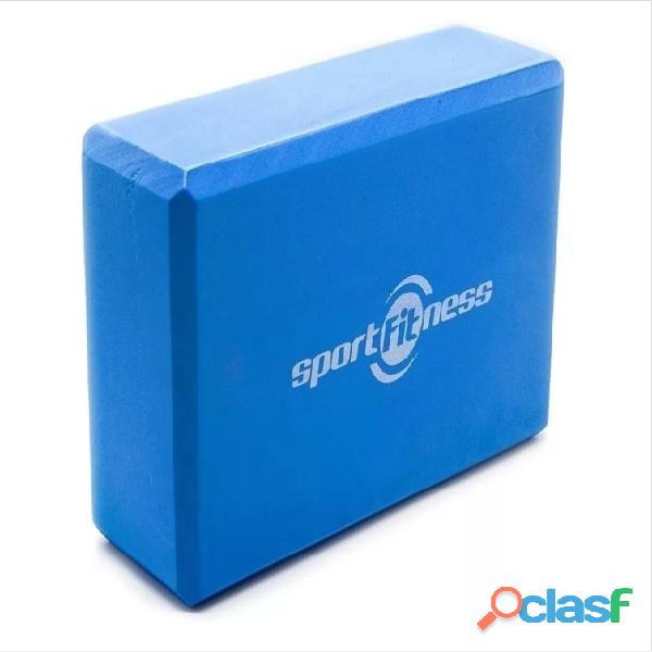 Cubo para yoga   bloque sportfitness gym   pilates espuma