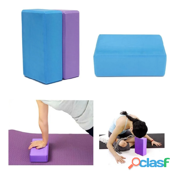 Cubo Para Yoga   Bloque Sportfitness Gym   Pilates Espuma 2